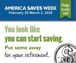 America Saves Week - Retirement